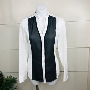 EXPRESS Limited Edition Womens White Button Up (M)